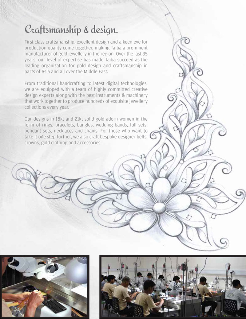 Taiba Jewellery designs